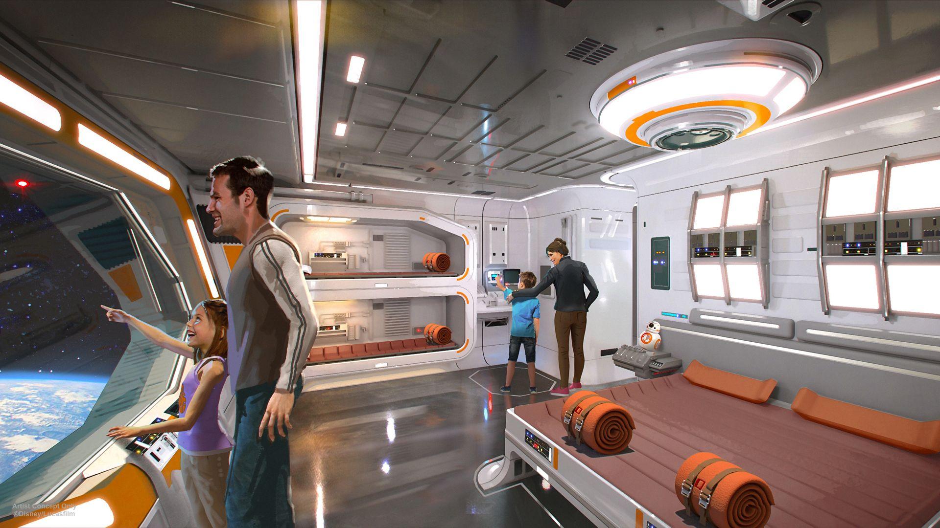 star wars hotel walt disney world 2 - More Details Arise for That 'Star Wars'- Themed Hotel at Walt Disney World