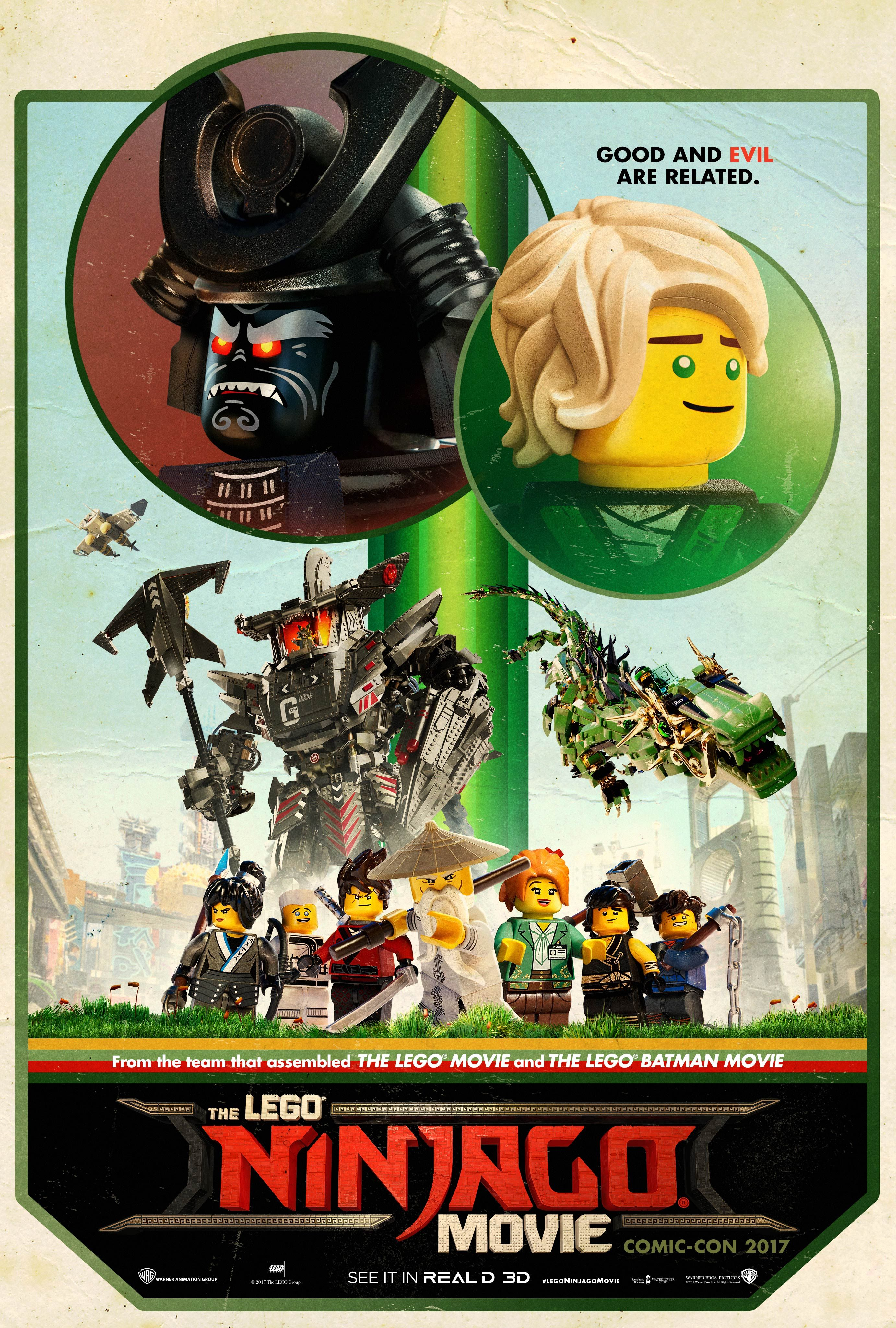 The Lego Ninjago Movie Trailer Flips Out Like A Ninja Collider