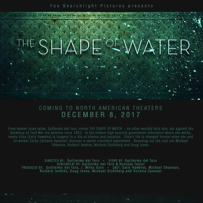 Guillermo del Toro's fantasy drama 'The Shape of Water' gets a trailer