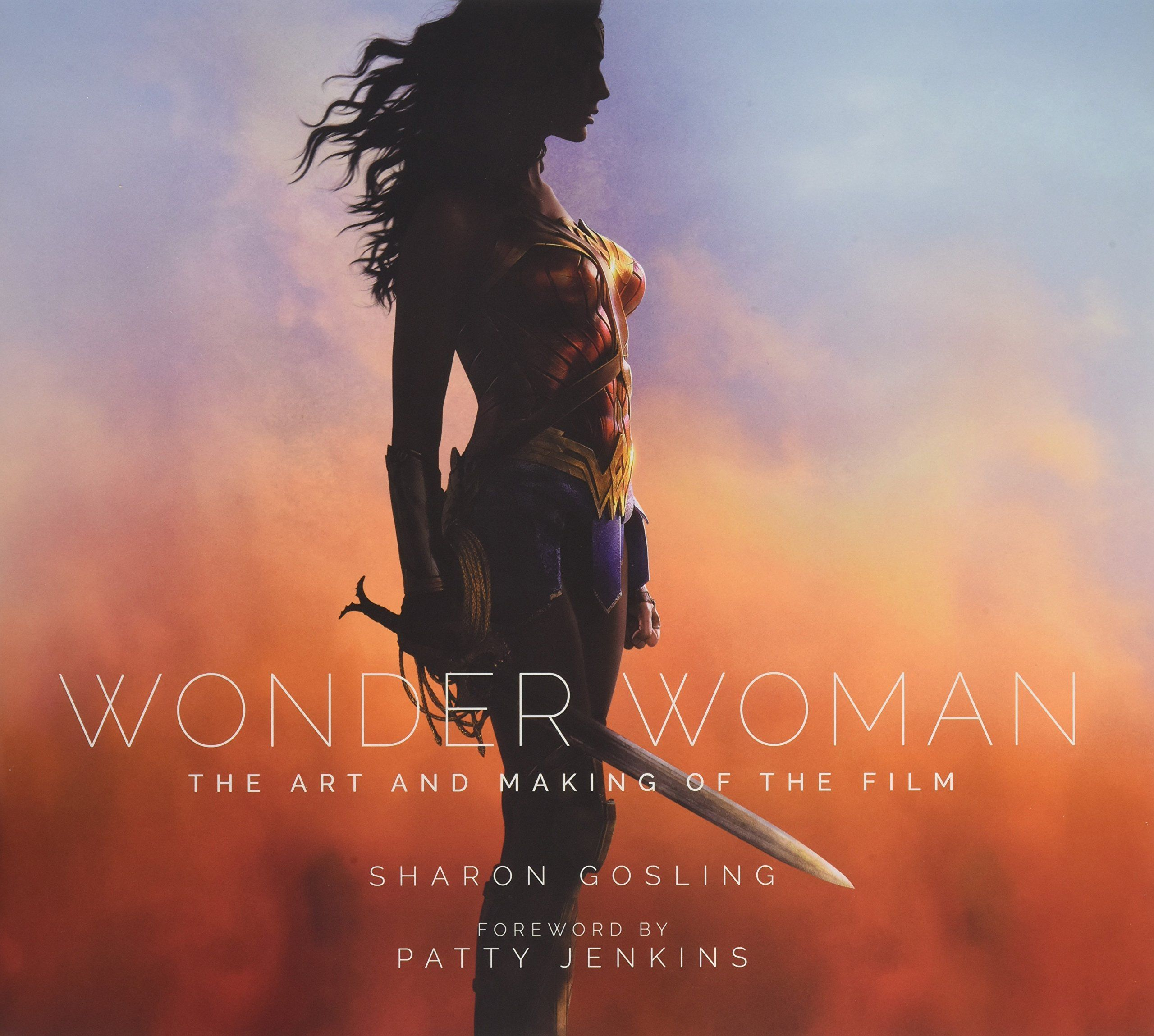 Wonder Book Cover Art : Wonder woman the art and making of film book review