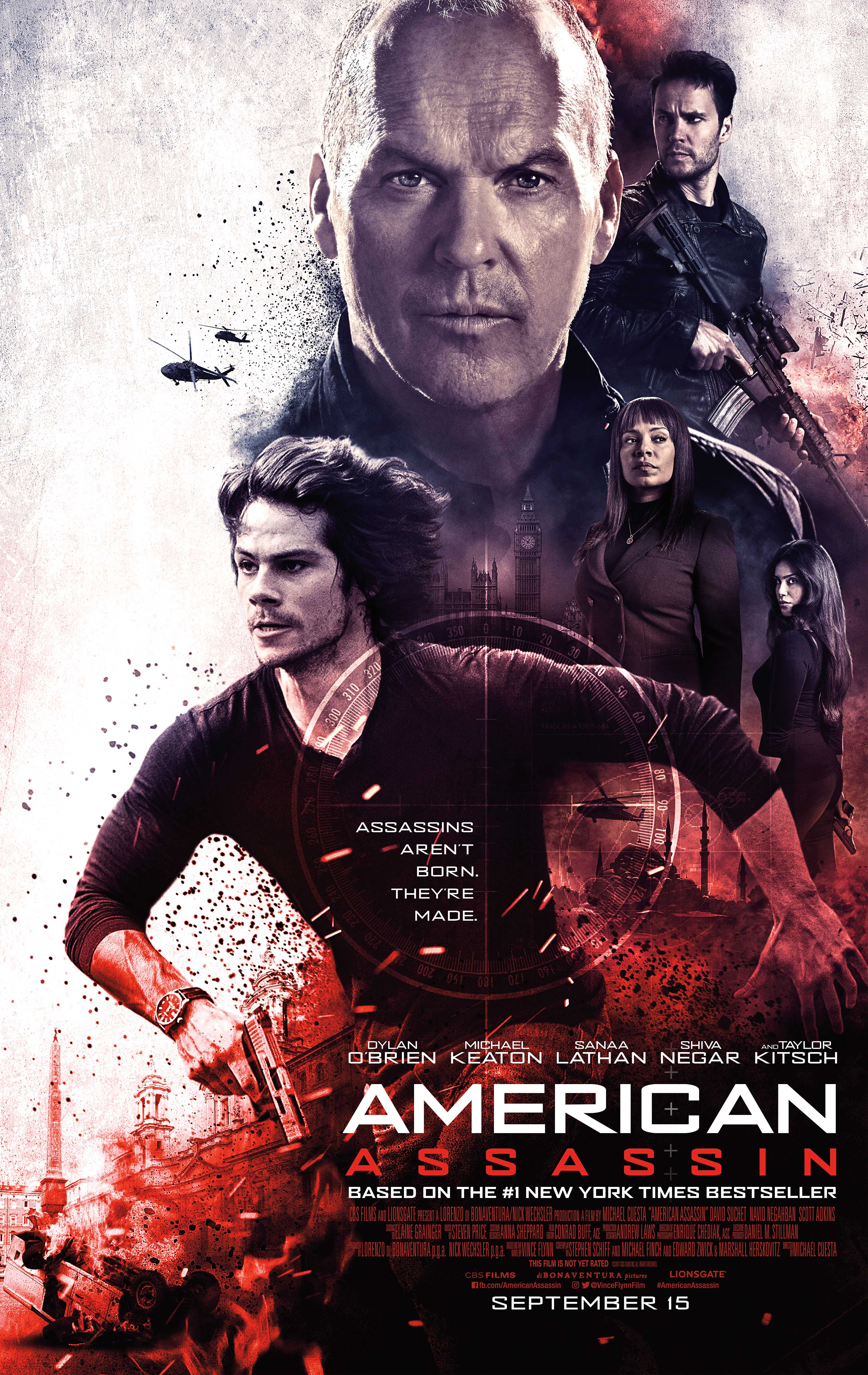 Taylor Kitsch on American Assassin, Favorite Spy Movies, and