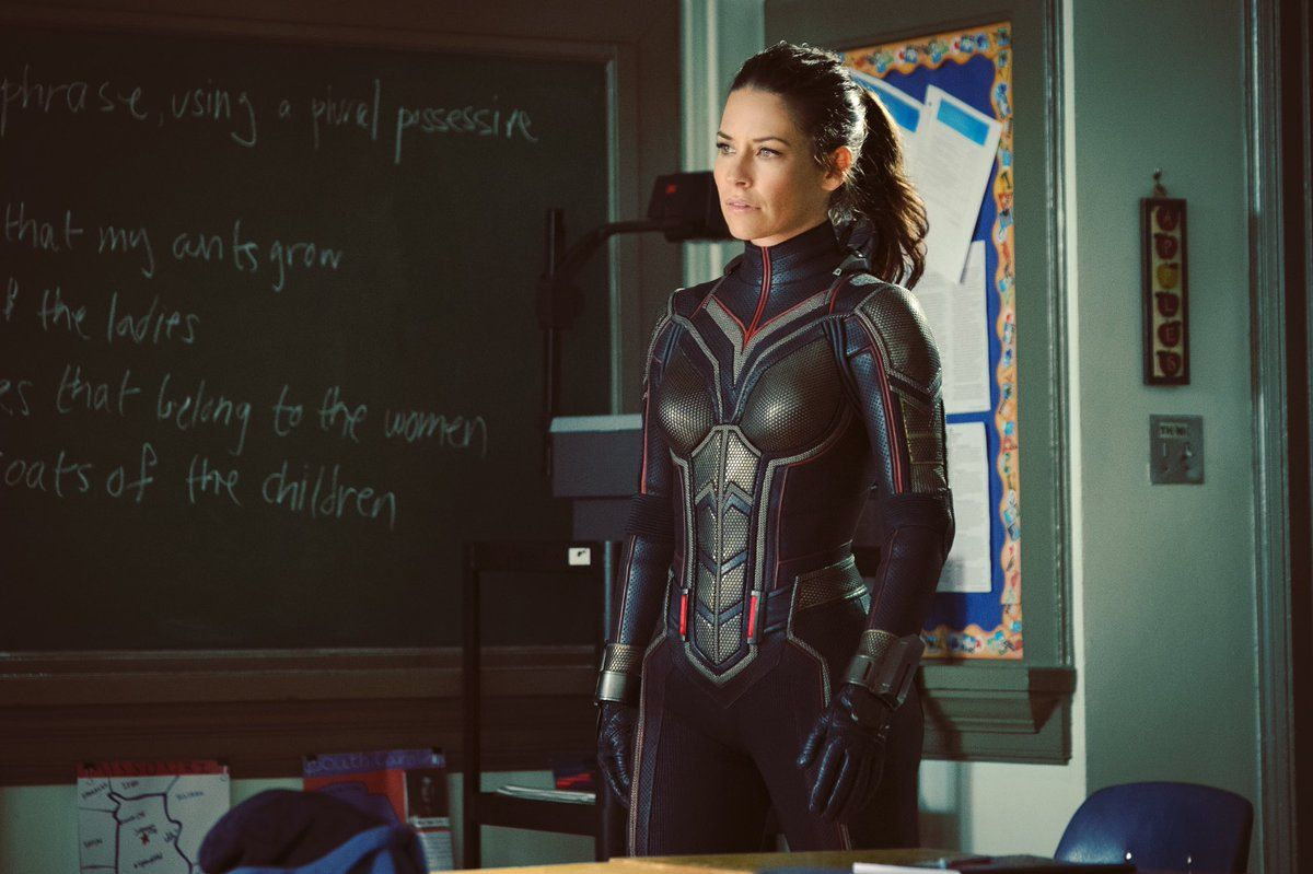 First look at Evangeline Lilly as The Wasp in Ant-Man sequel
