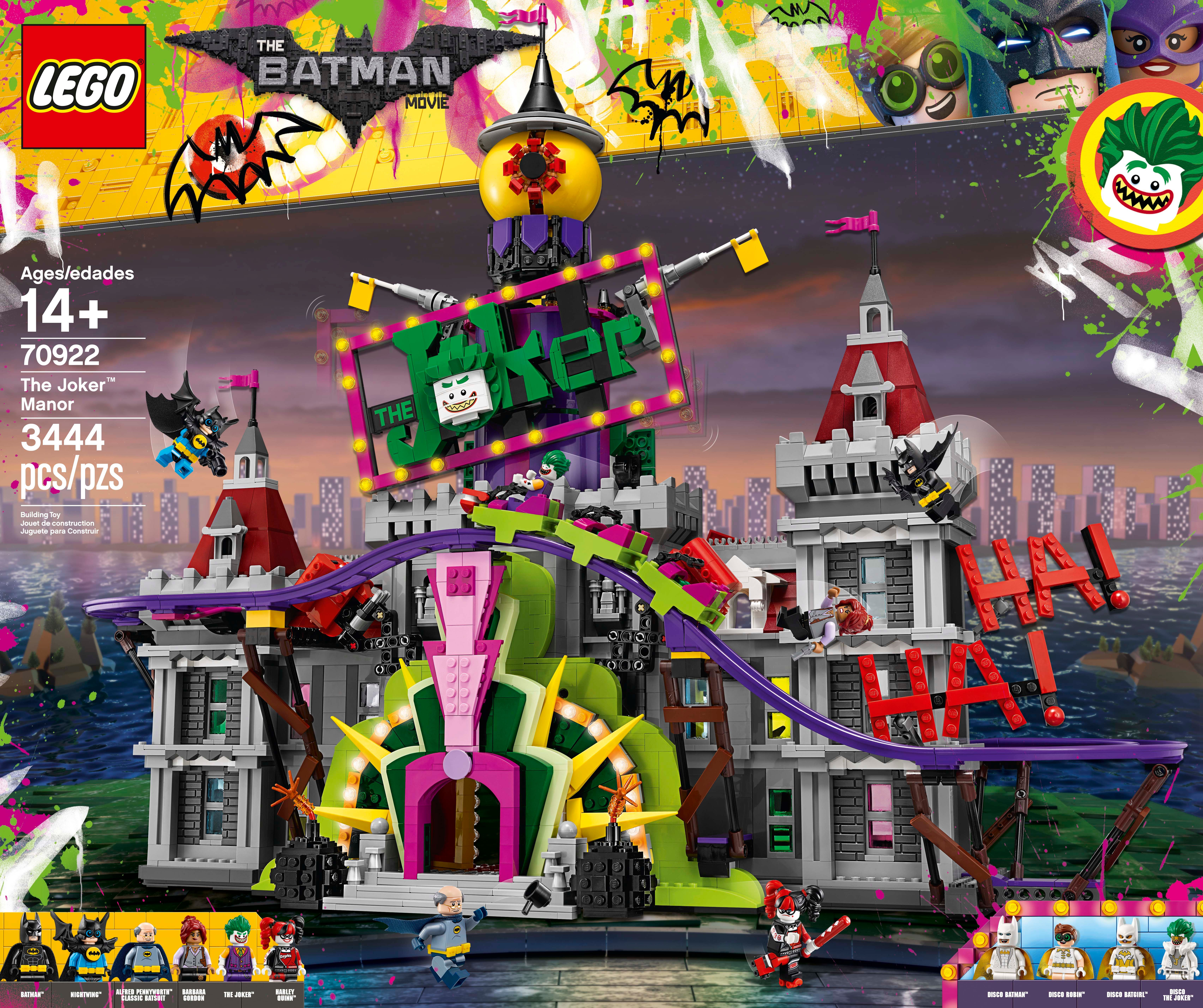 The Lego Batman Movie Set For The Joker Manor Revealed Collider