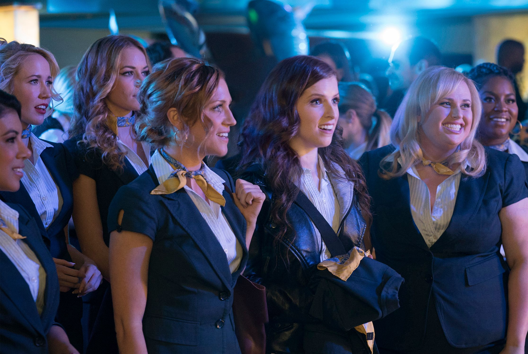 Pitch Perfect 3 stars faked smiles for 'emotional' final scenes together