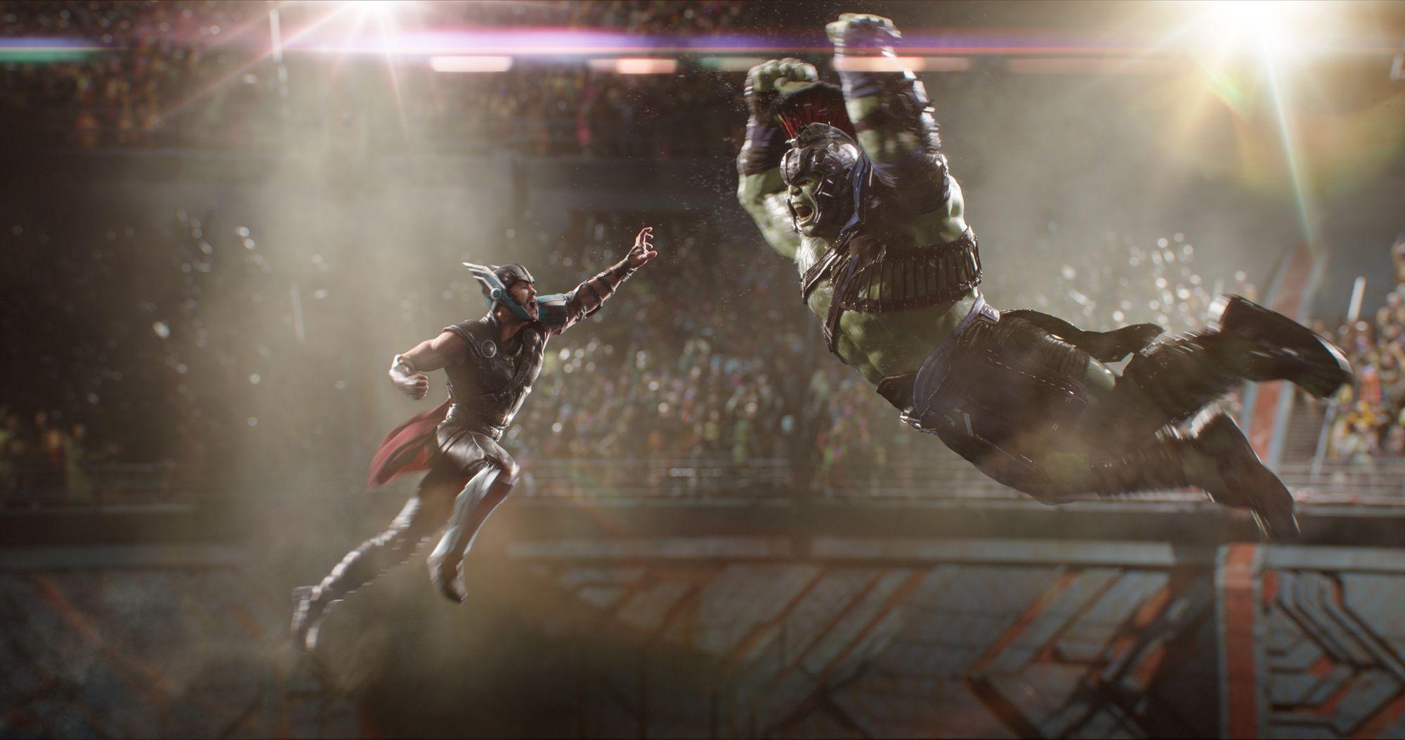 Resultado de imagen de thor : ragnarok hulk