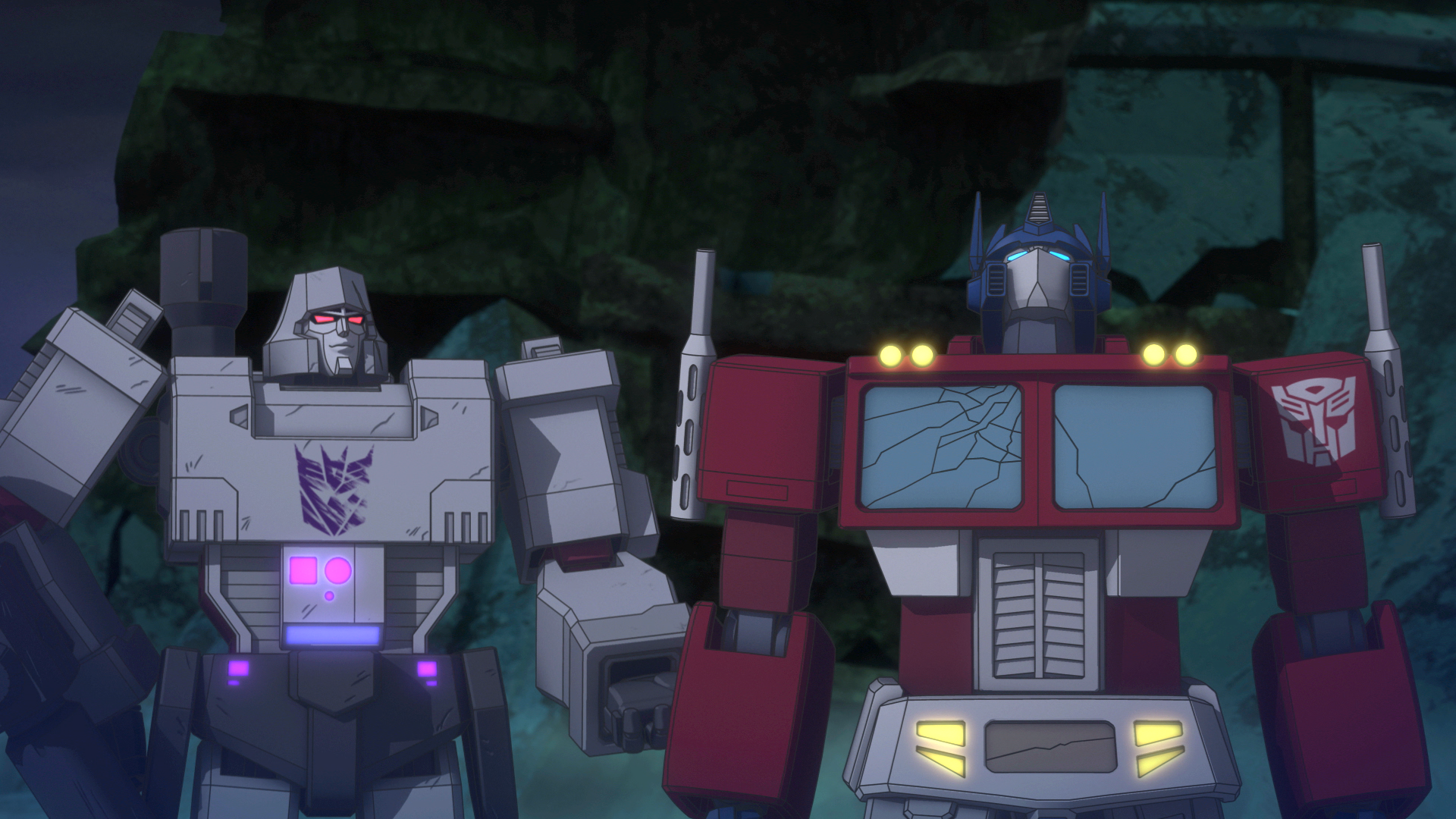 transformers: titans return trailer features peter cullen as optimus