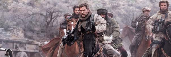 Chris Hemsworth Saddles Up for War in 12 Strong Trailer ...