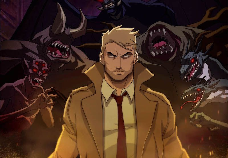 first constantine poster teases cw seeds animated series