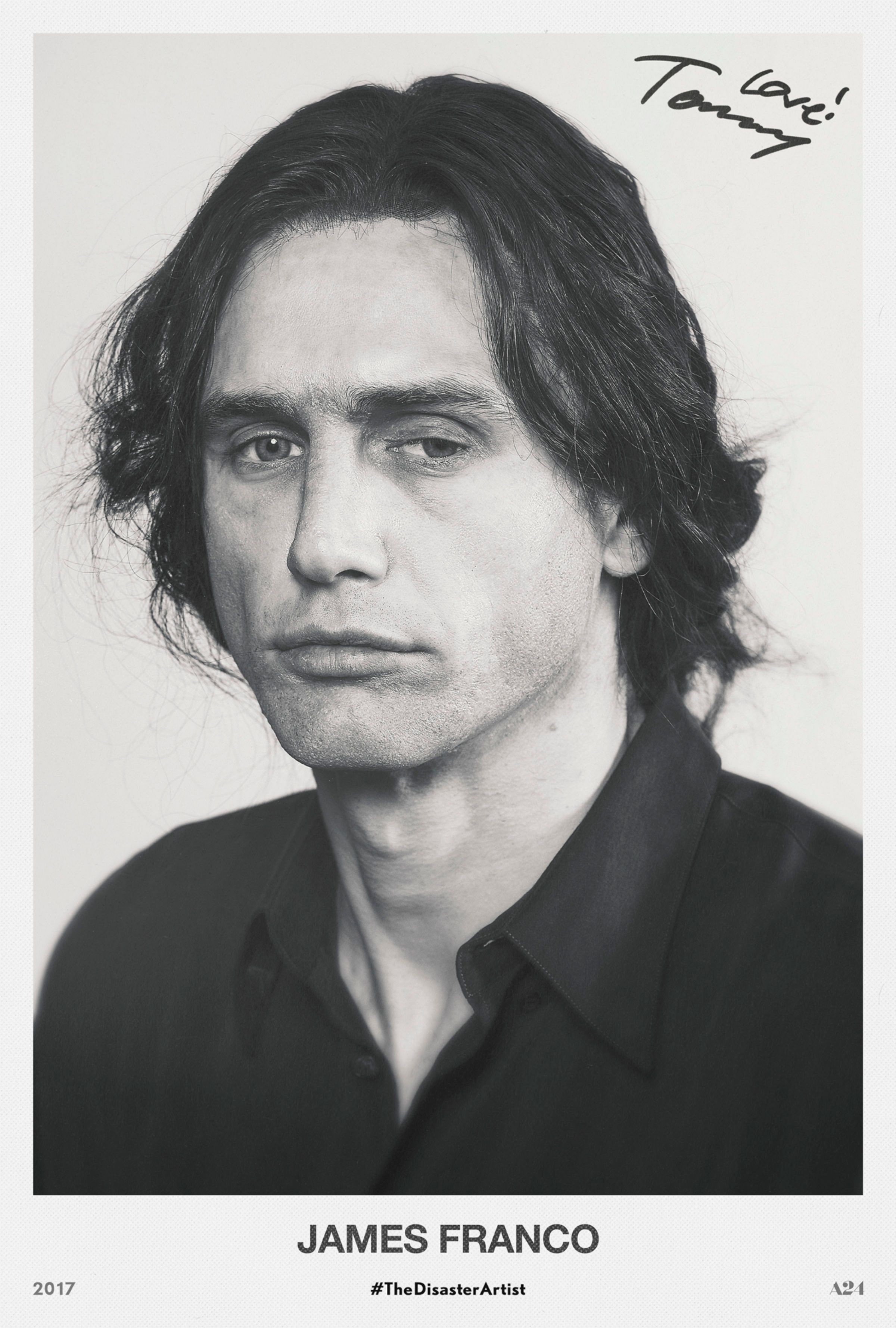 a96ea9c193fd The Disaster Artist Has James Franco in a Tommy Wiseau Headshot ...
