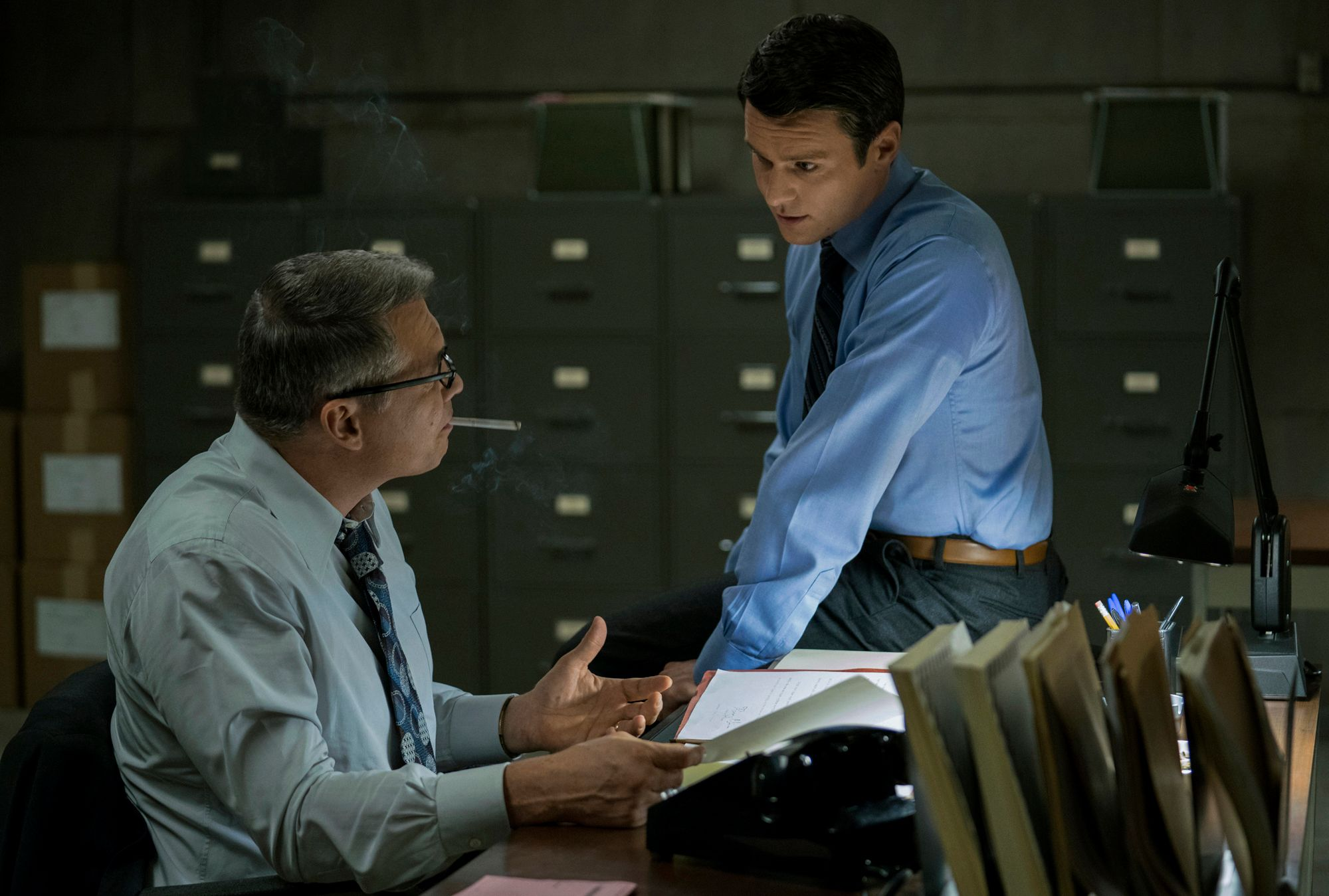 Mindhunter Jonathan Groff Anna Torv Amp Holt McCallany On