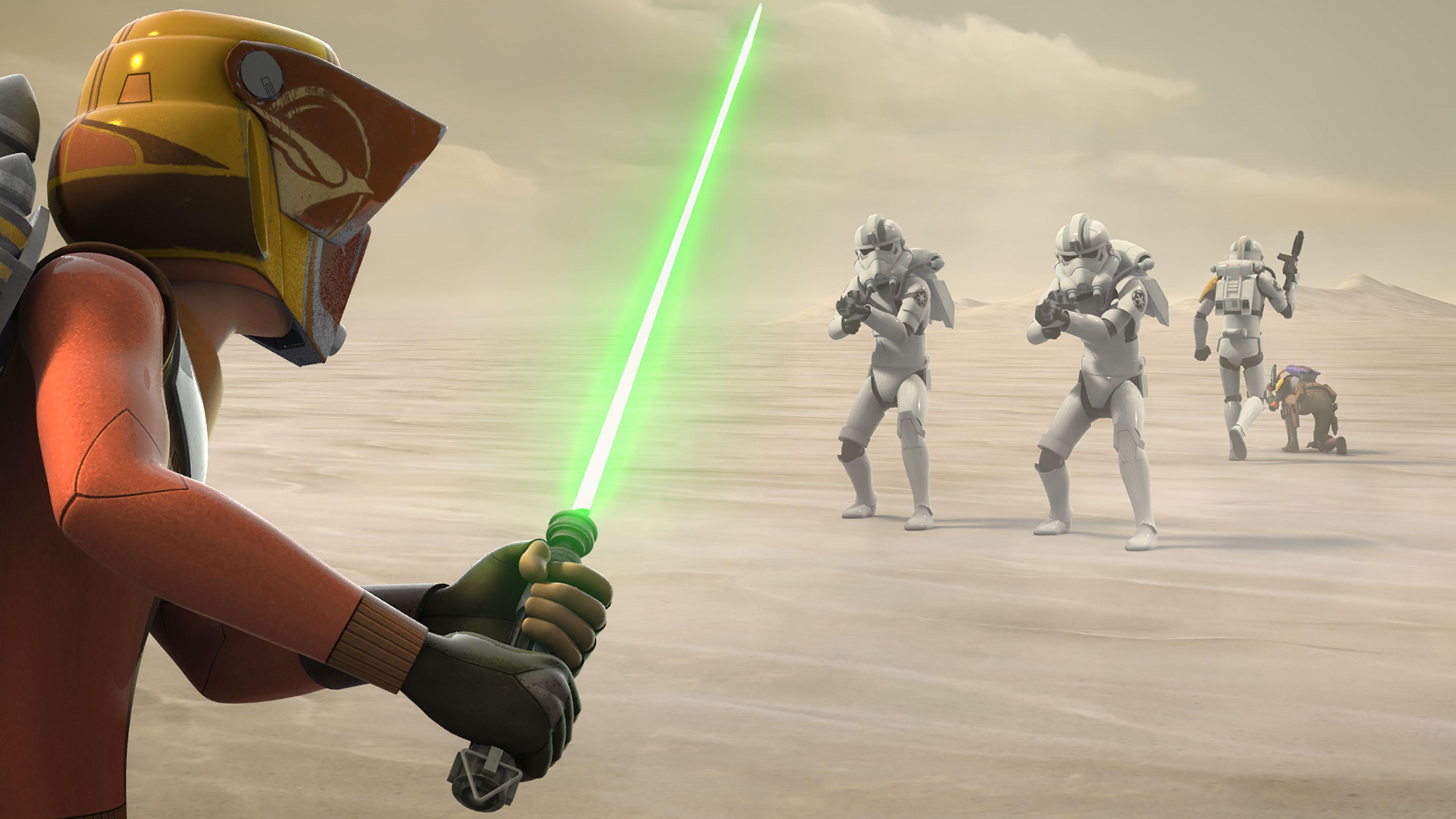 Star Wars Rebels Season 4 Premiere Images Reveal Heroes Of
