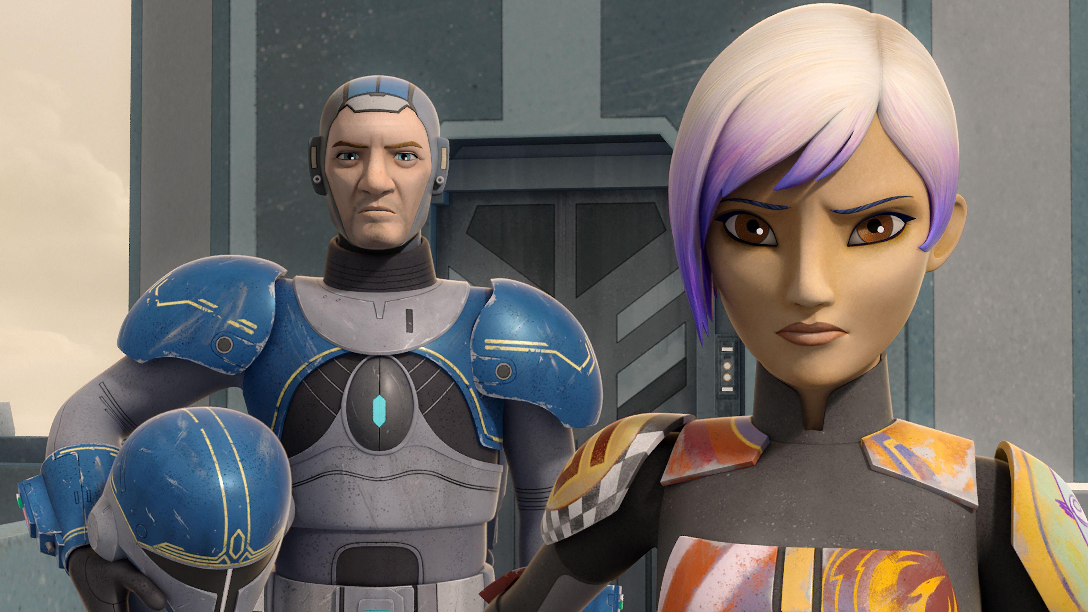 Star Wars Rebels Season 4 Premiere Images Reveal Heroes of ...