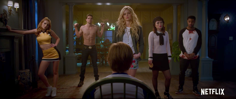 The Babysitter Trailer  Netflix U0026 39 S Hot People Horror