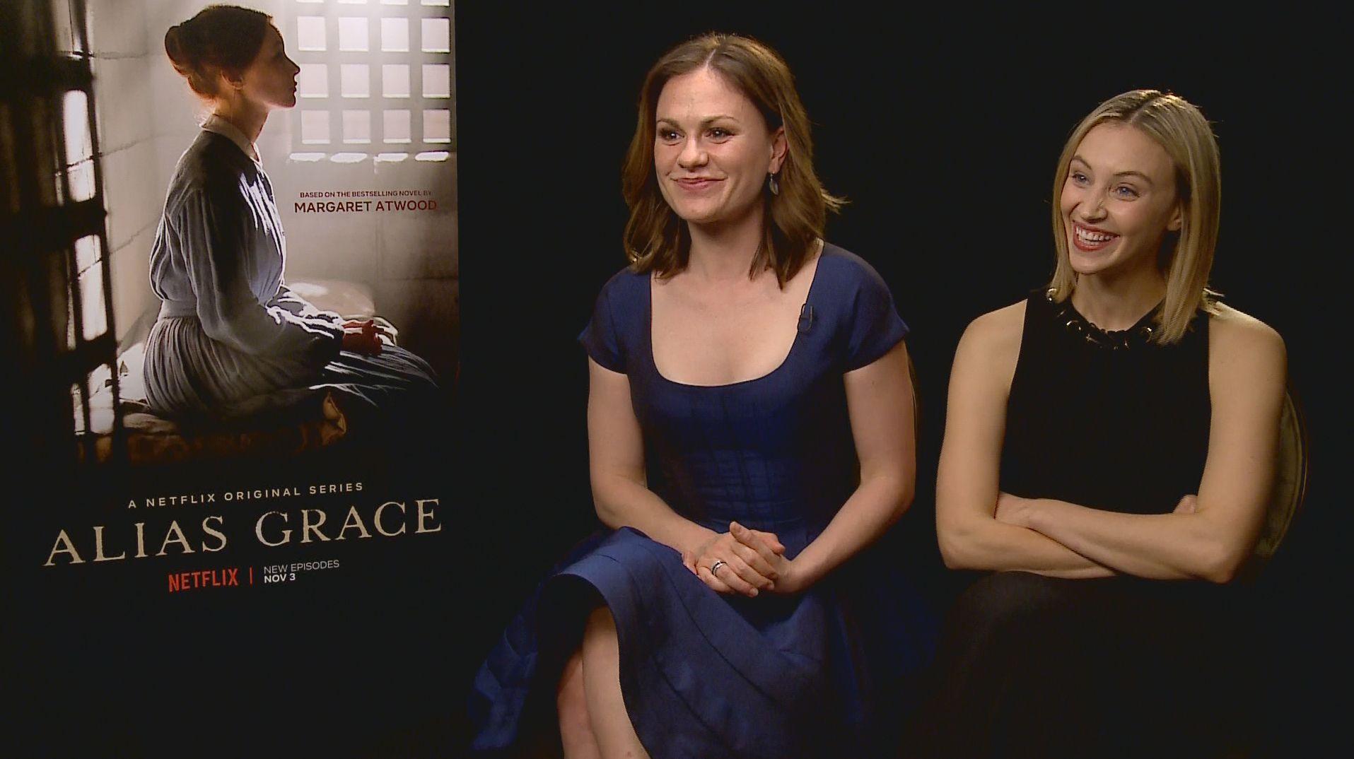 Anna Paquin Sarah Gadon On David Cronenbergs Alias Grace