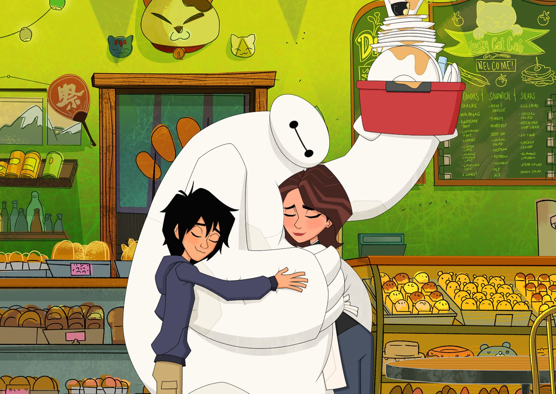 Baymax Announces the 'Big Hero 6 The Series' Premiere Date and Guest Cast