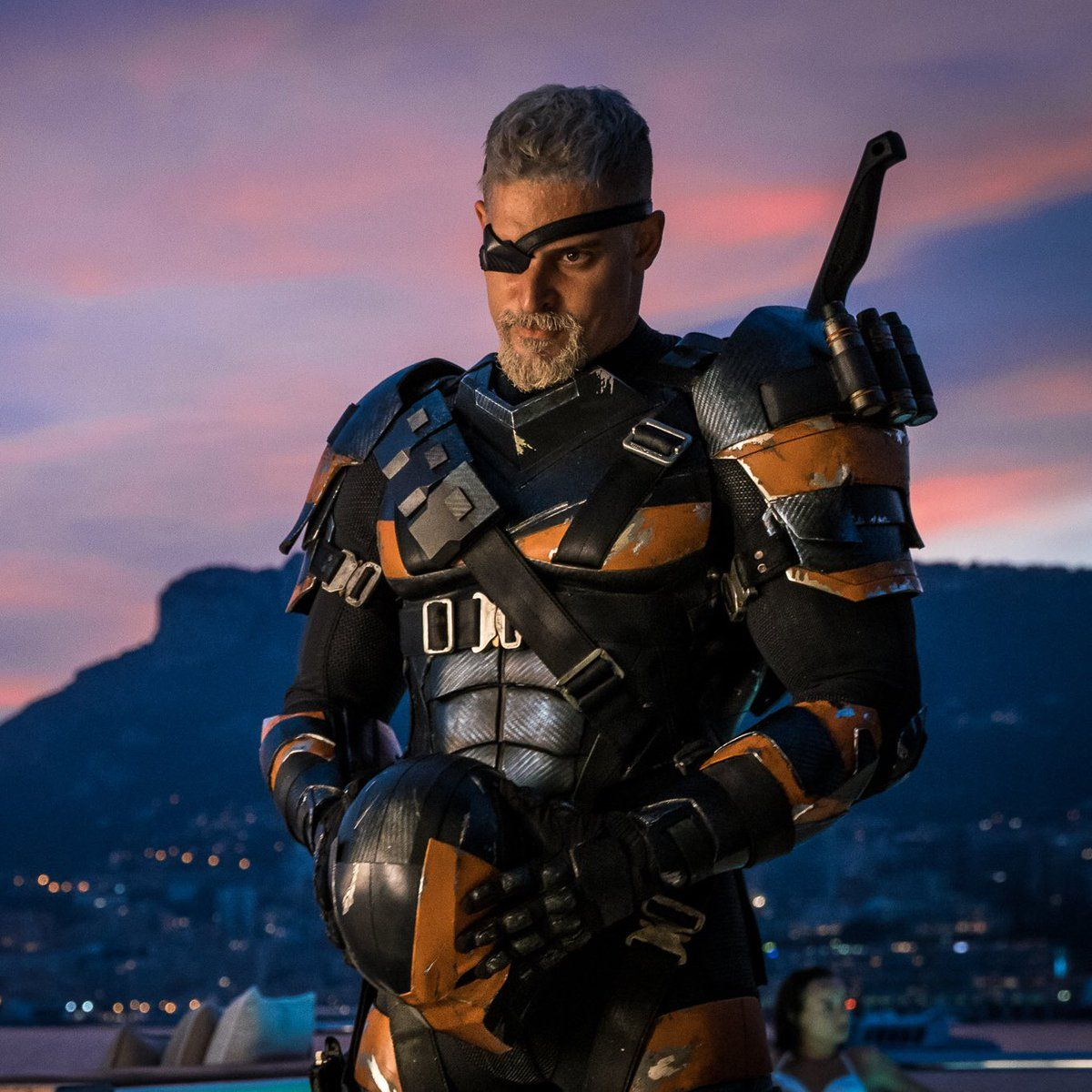 Joe Manganiello Shares New Deathstroke Image on Twitter