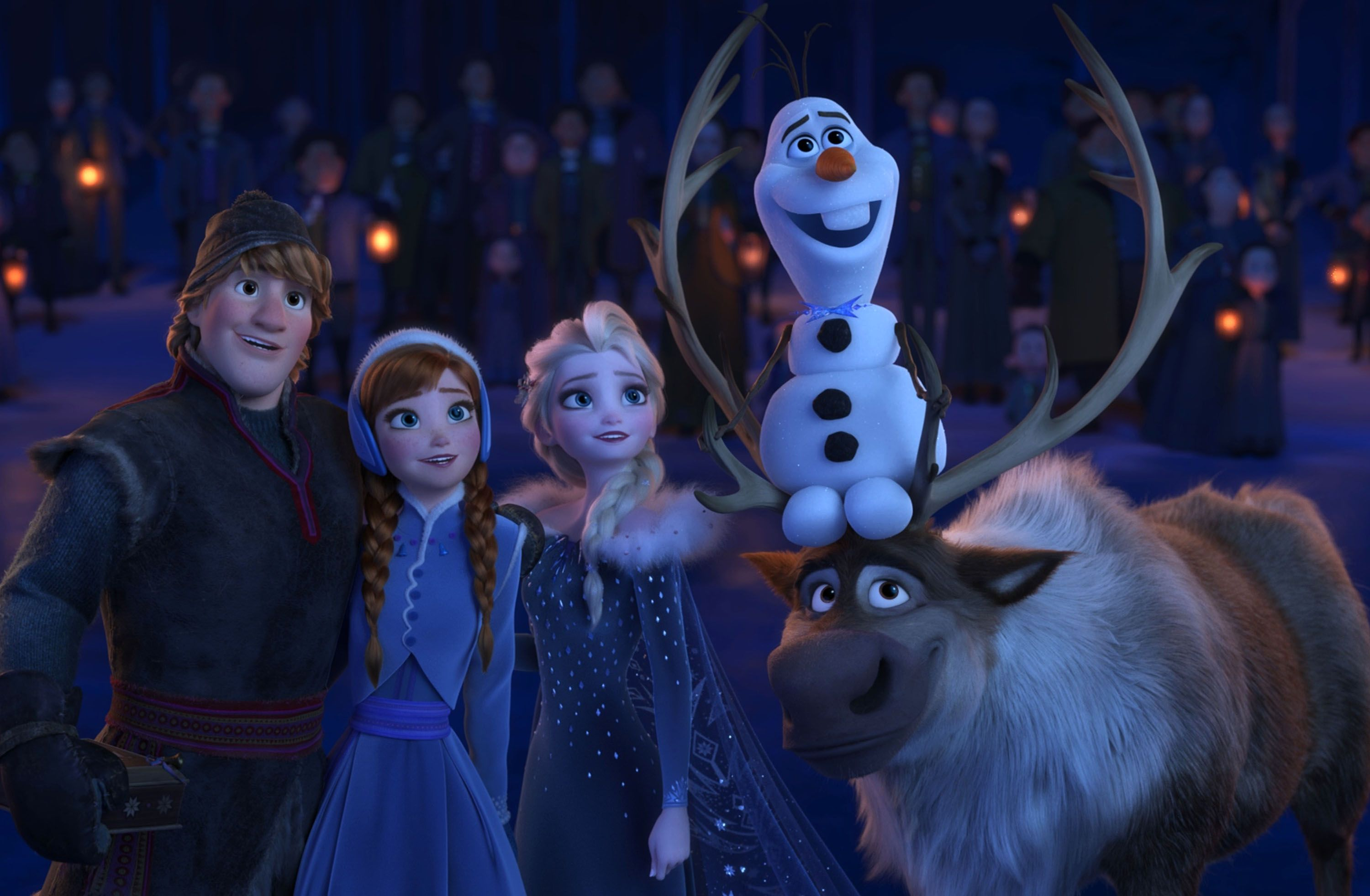 Olaf 39 s frozen adventure directors on crafting the short - Frozen anna and olaf ...