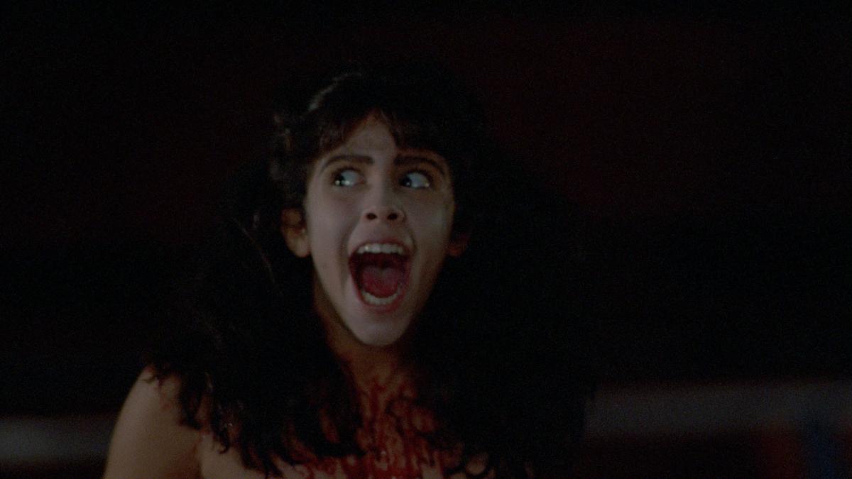 Actress Felissa Rose in Sleepaway Camp movie 1983