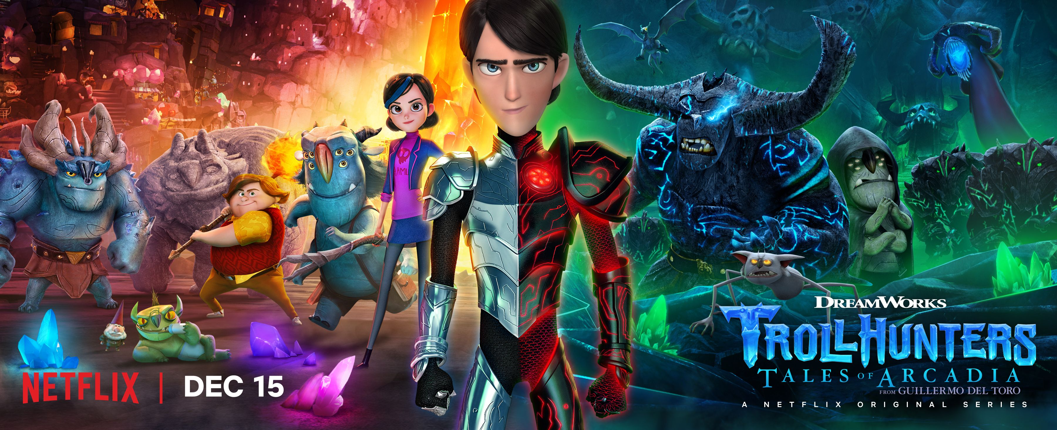 Guillermo del Toro on Trollhunters Season 2 & The Strain Ending