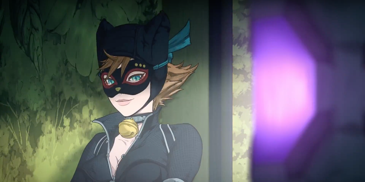 Are absolutely lesbian ninja animes