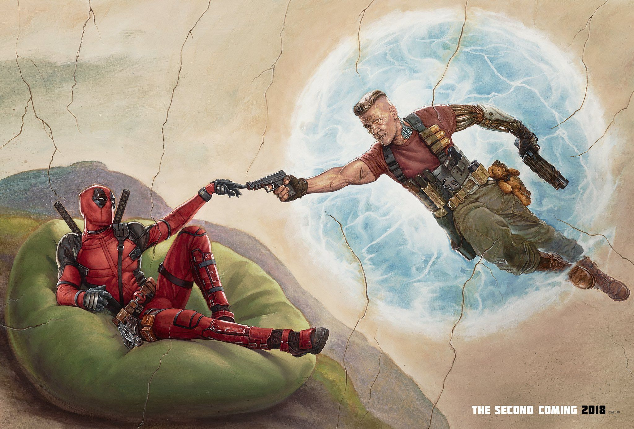 Ryan Reynolds Shares New 'Deadpool 2' Art Featuring Cable