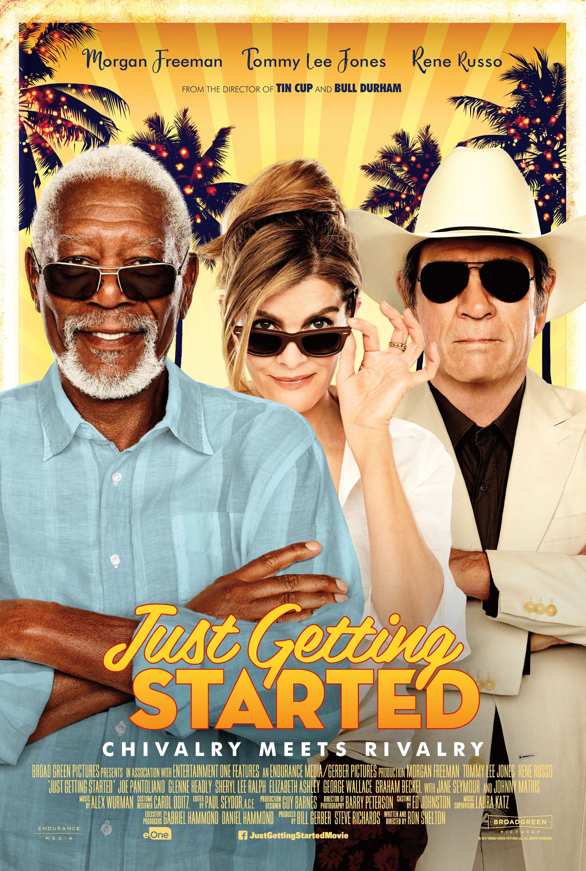 morgan freeman on just getting started & tommy lee jones | collider