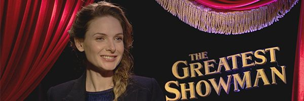 Rebecca Ferguson on The Greatest Showman and Mission