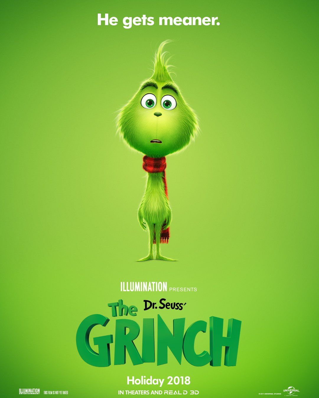 Dr Seuss The Lorax Movie Script: The Grinch: Illumination Entertainment's Take Revealed In