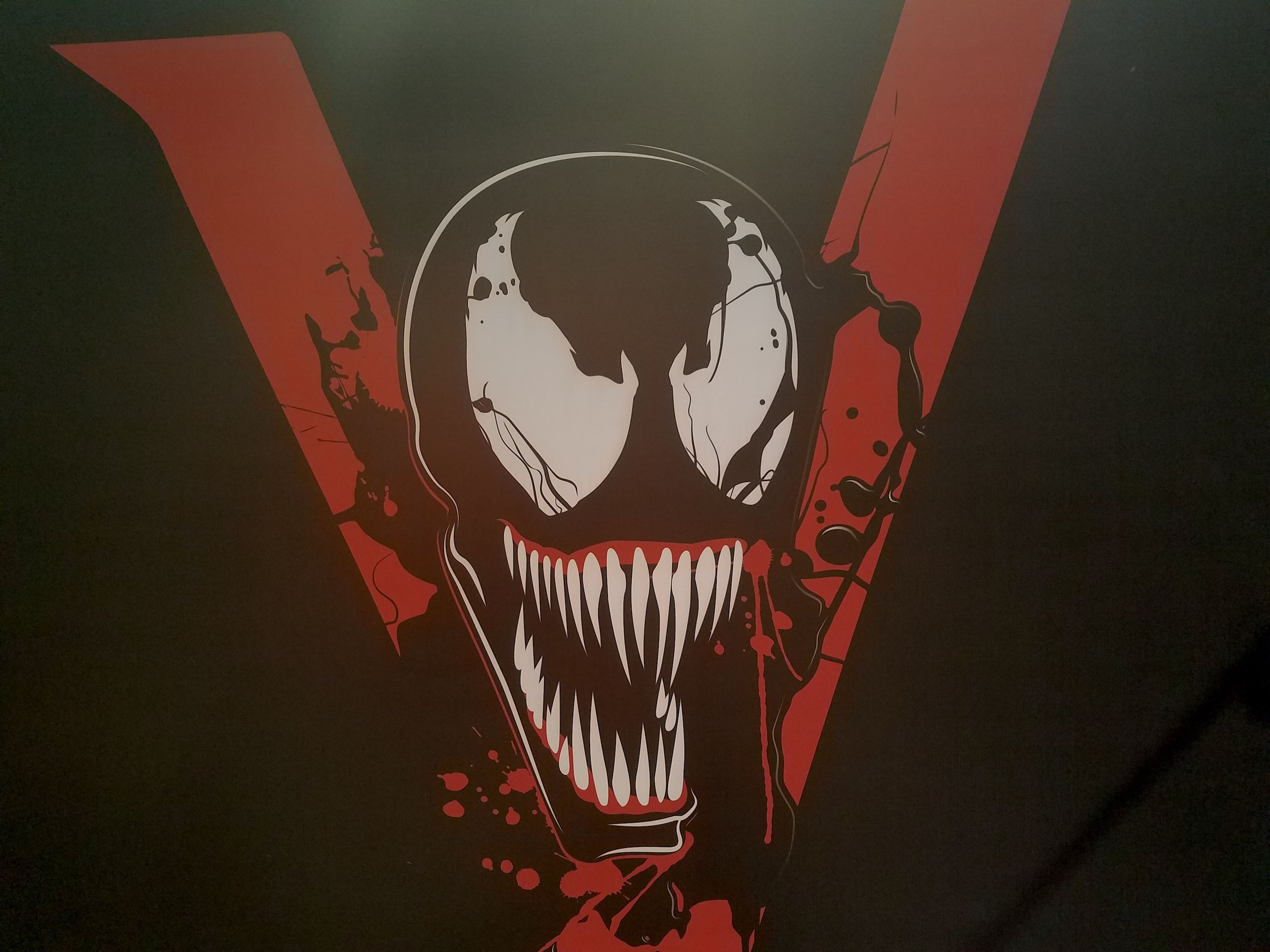 Venom Movie Logo Possibly Revealed In New Banners Collider