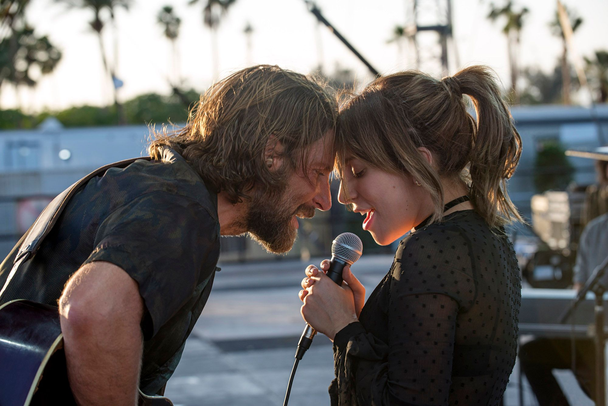 Lady Gaga insisted on live singing for 'A Star is Born'