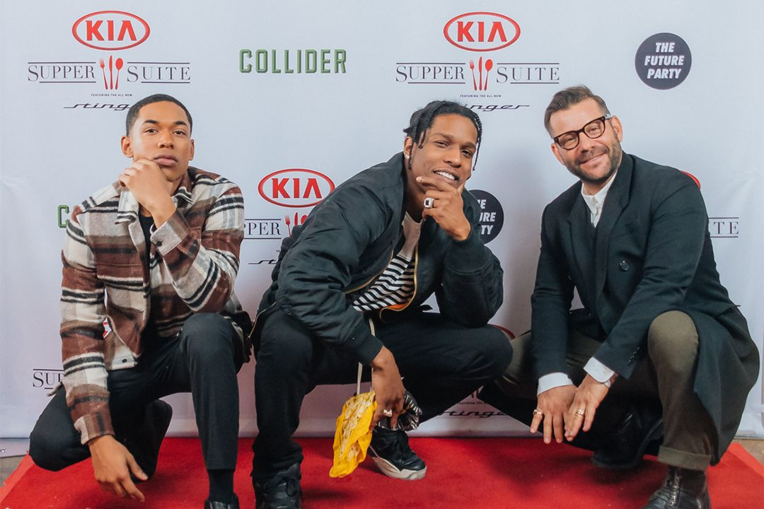 asap rocky broken nose explained monster movie - A$ AP Rocky, Kelvin Harrison Jr., and Director Anthony Mandler on Their Sundance Drama 'Monster'
