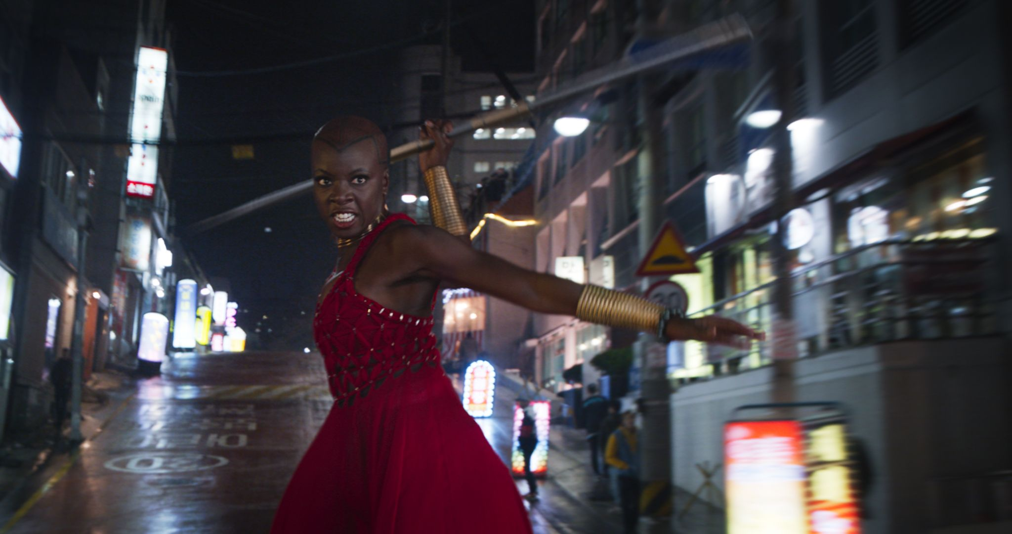 Movie Poster 2019: Black Panther Deleted Scene Puts Okoye In The Spotlight