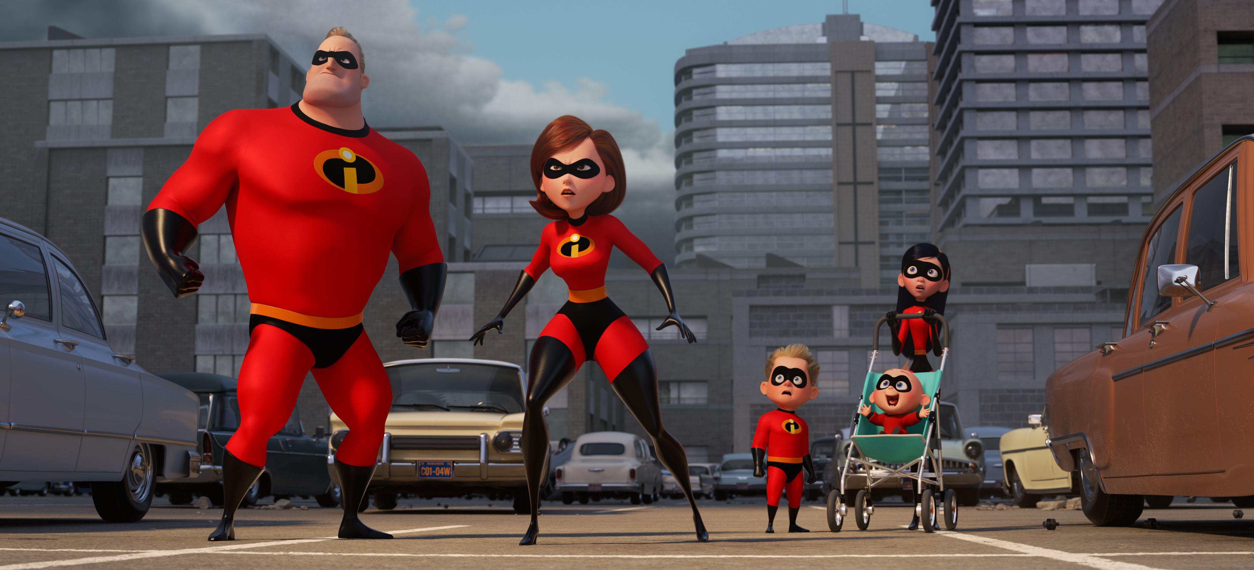 incredibles 2 - 'Incredibles 2' Trailer Brings Back Pixar's Powerful First Family