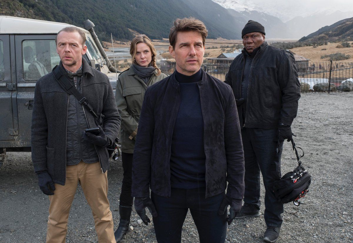 mission impossible 6 simon pegg rebecca ferguson tom cruise ving rhames - 'Mission: Impossible – Fallout' Trailer Reveals the High-Octane Sequel