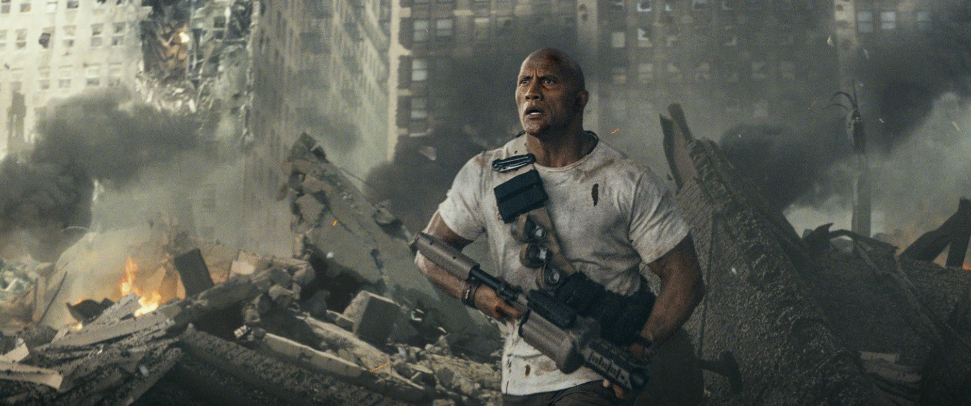 rampage dwayne johnson - 'Rampage' to Hit Theaters a Week Early After 'Avengers' Release Date Switch