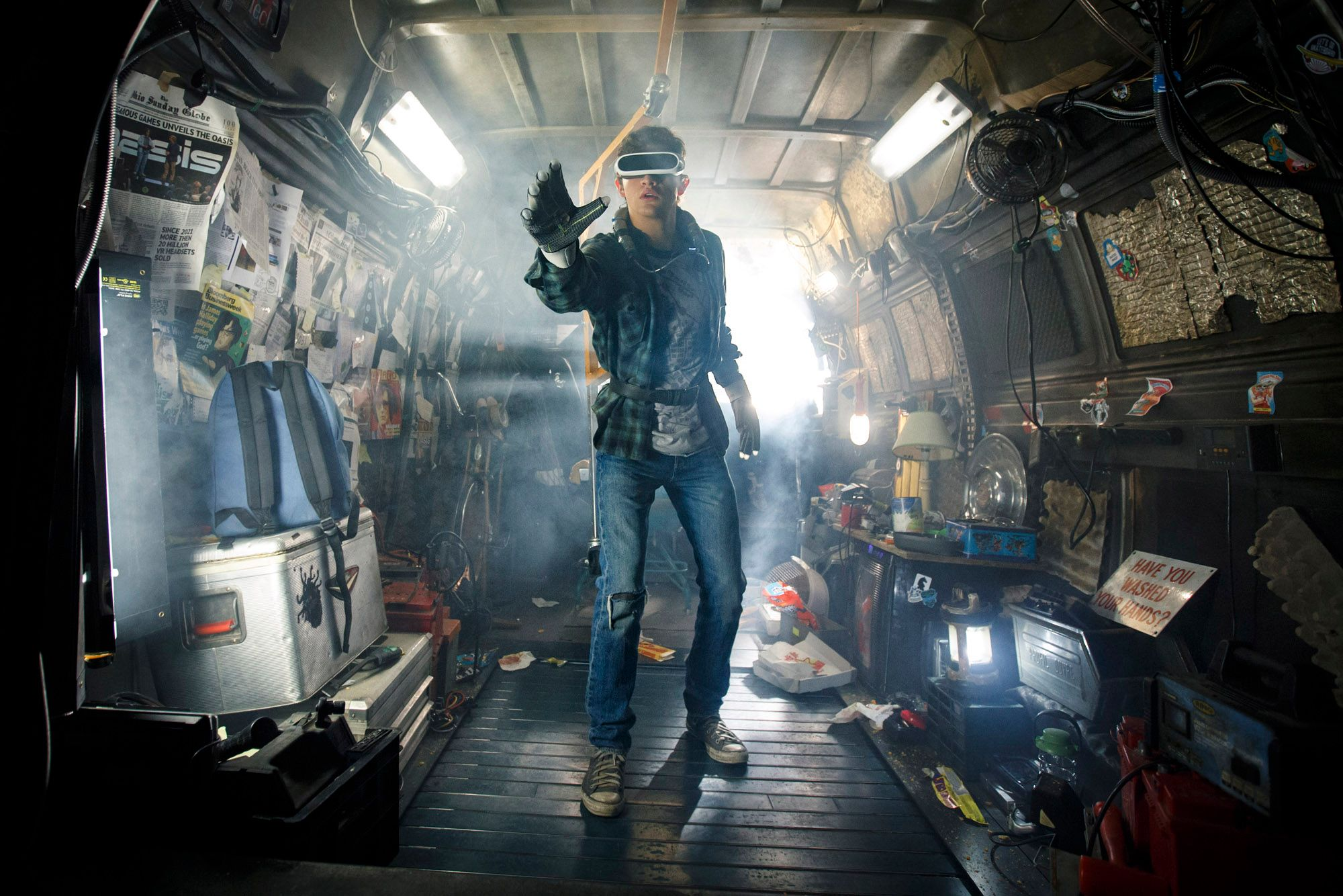 ready player one movie tye sheridan - 'Ready Player One' Reactions Hail Spielberg's Return to Blockbuster Filmmaking