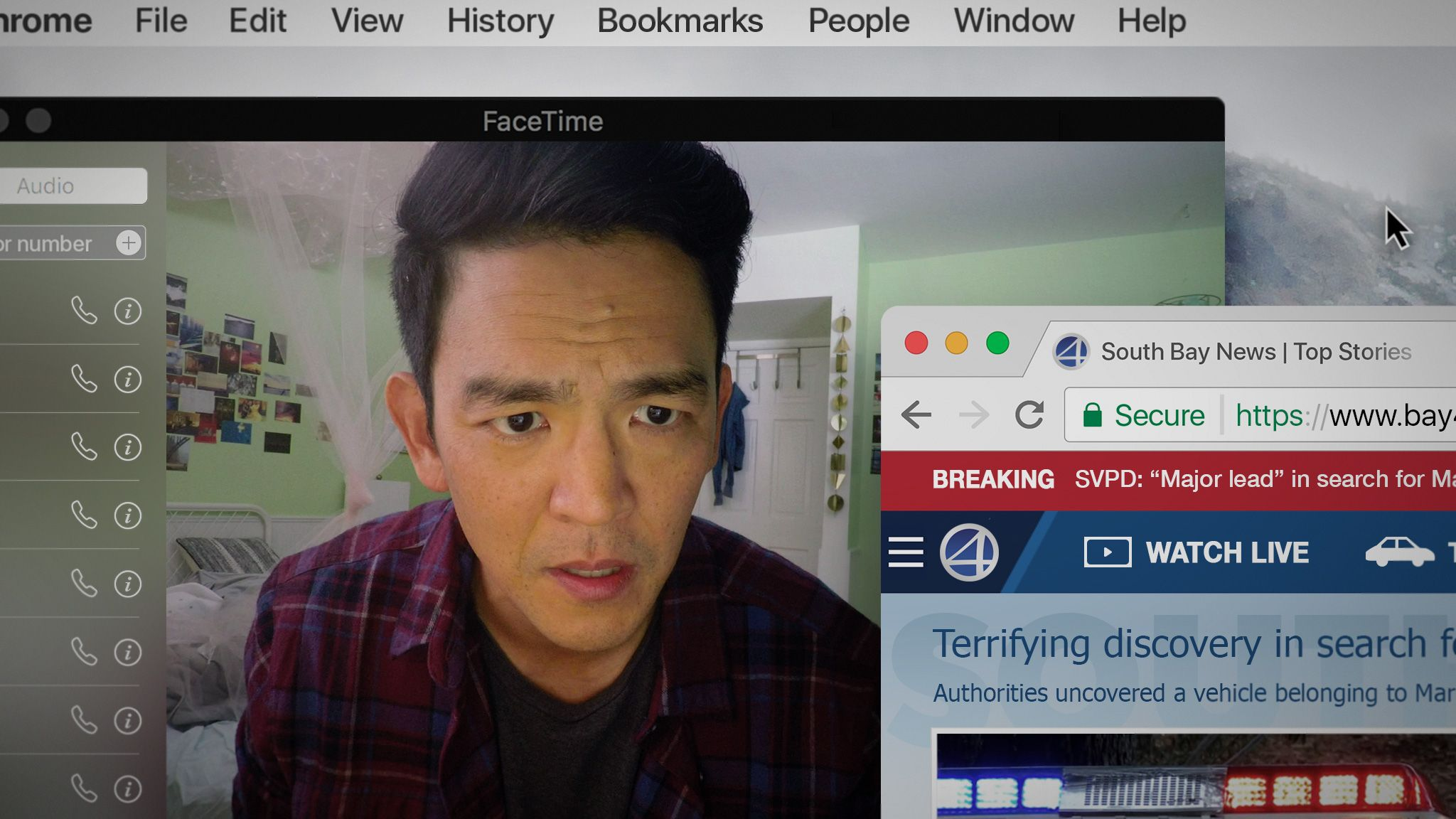 John Cho And Searching Movie Director Aneesh Chaganty On