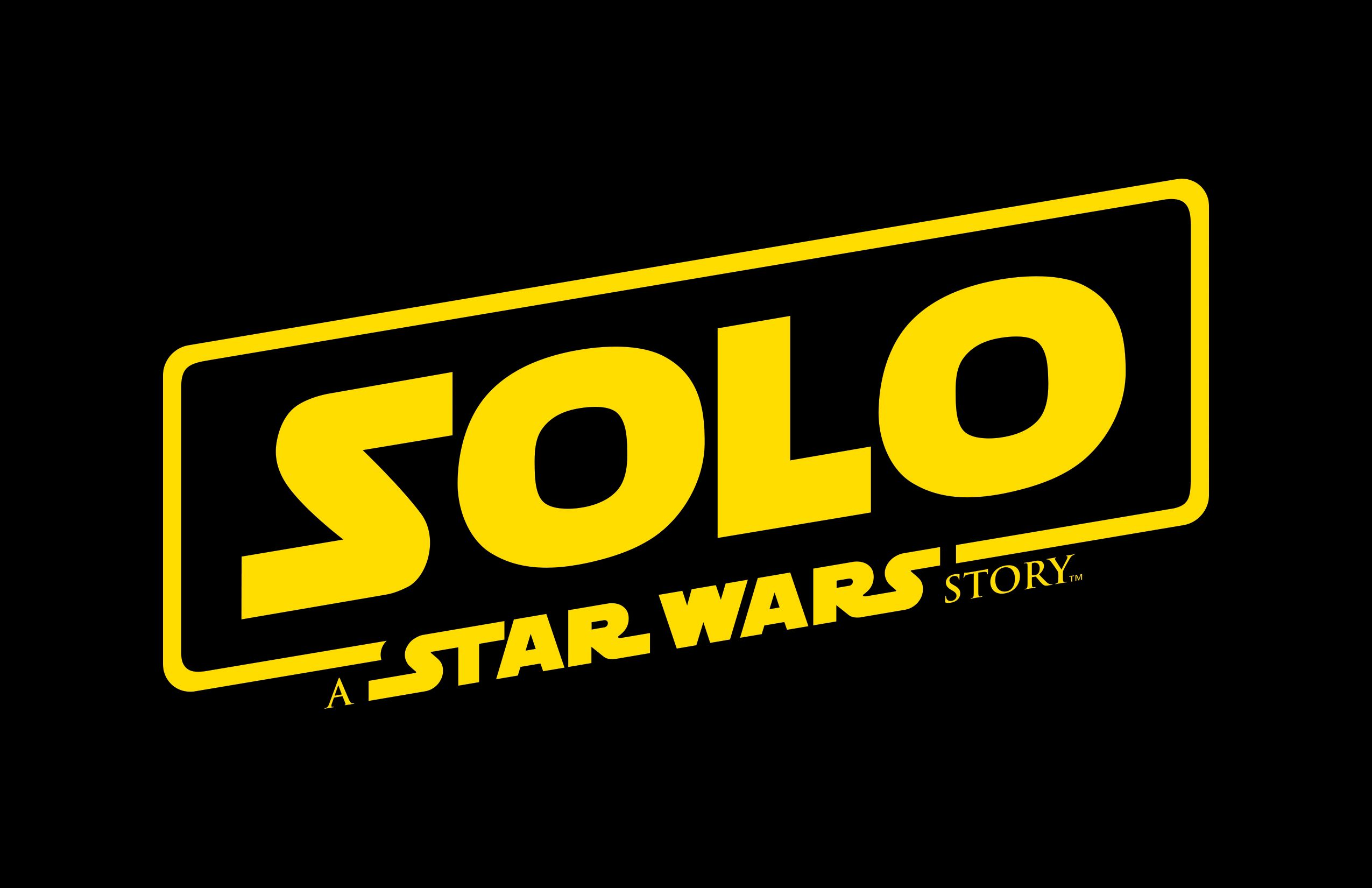 solo a star wars story logo - 'Solo: A Star Wars Story' Trailer Reveals the Adventurous Spinoff