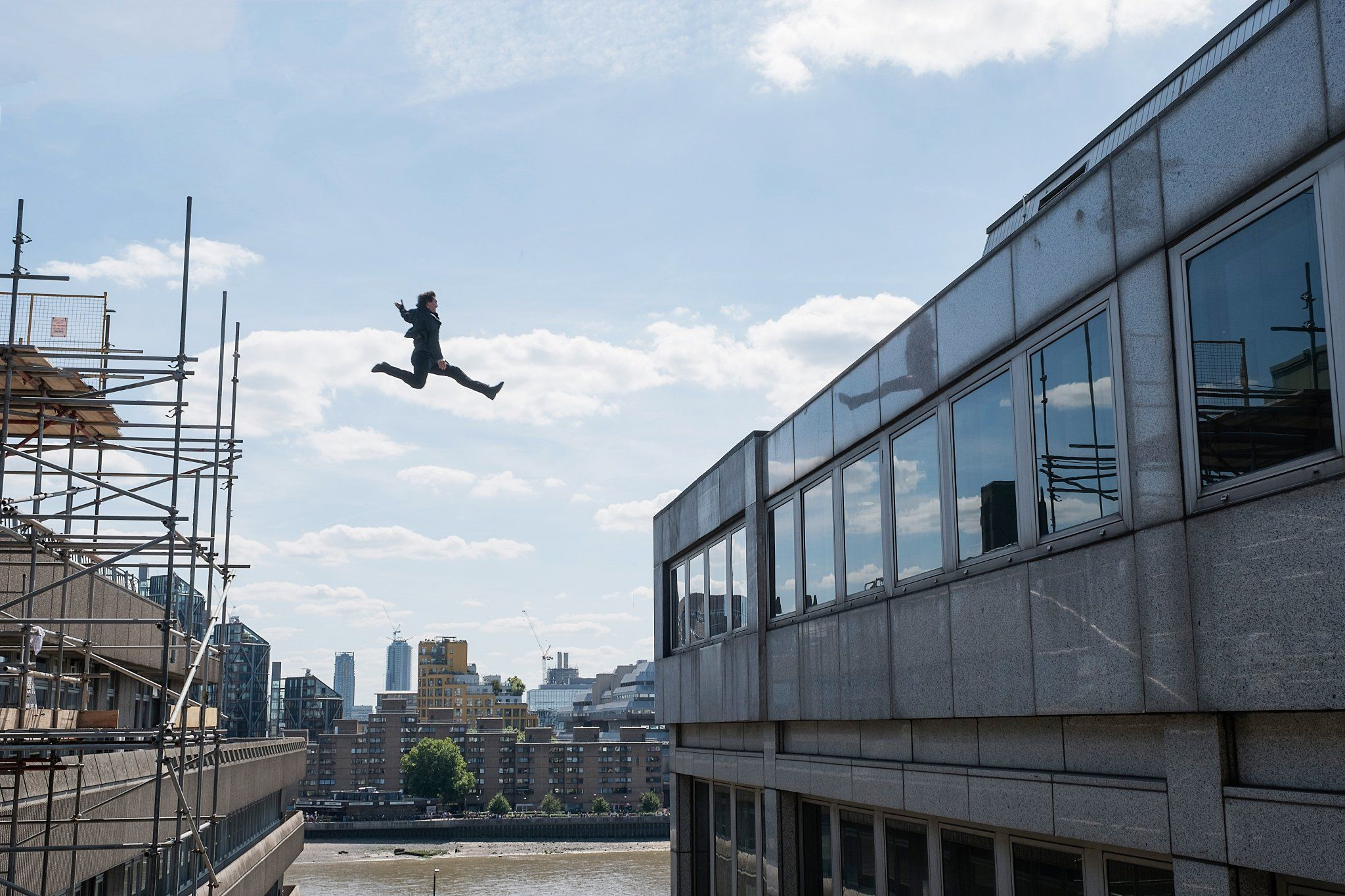 Mission Impossible  Building Jump