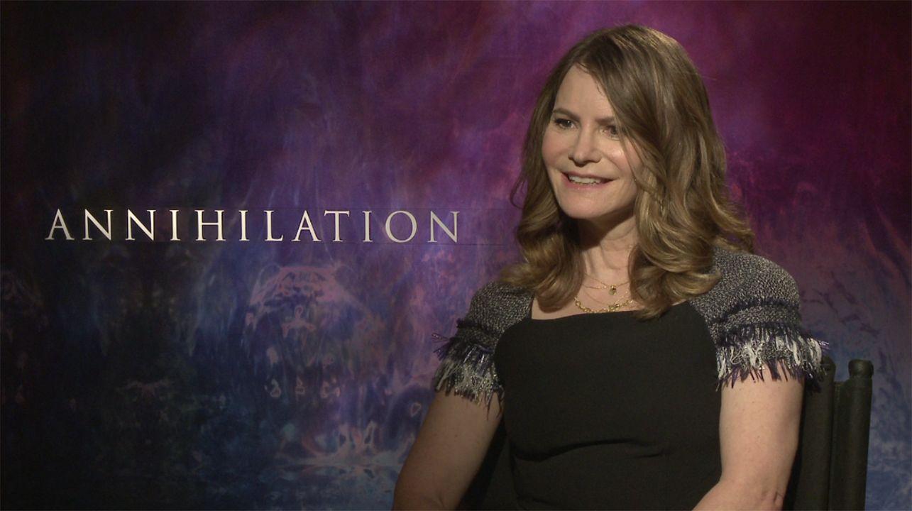 annihilation interview jennifer jason leigh.'