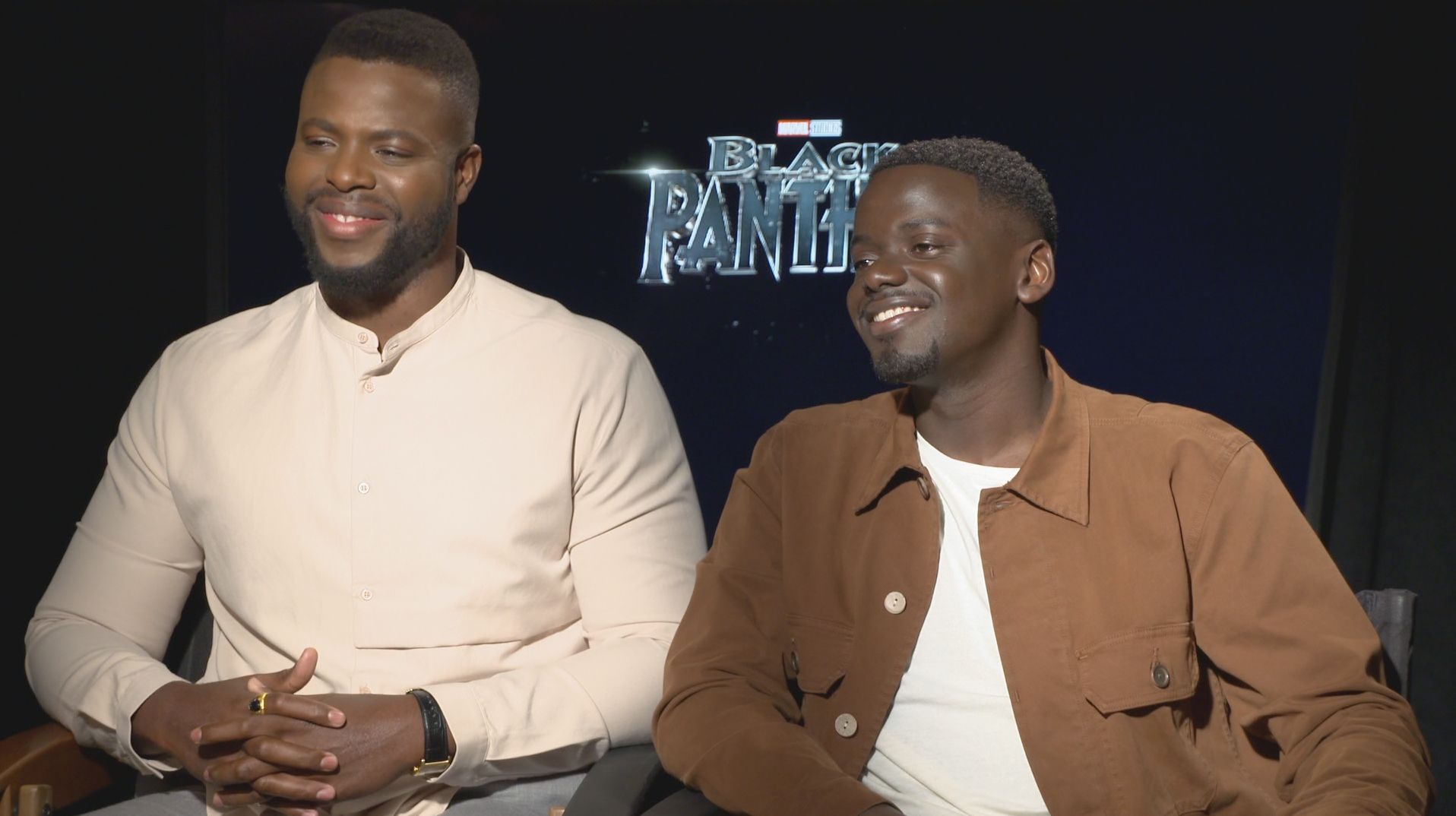 black panther daniel kaluuya winston duke interview - Daniel Kaluuya and Winston Duke on the Universal Themes of 'Black Panther'