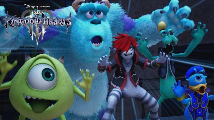 Kingdom Hearts Christmas.Kingdom Hearts 3 New Trailer Travels Across Disney Worlds