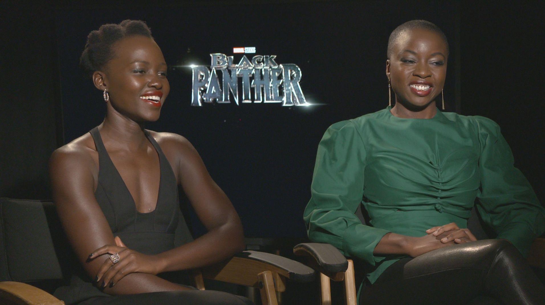 lupita nyongo danai gurira interview black panther - Lupita Nyong' o and Danai Gurira on the Beautiful Premise of 'Black Panther'