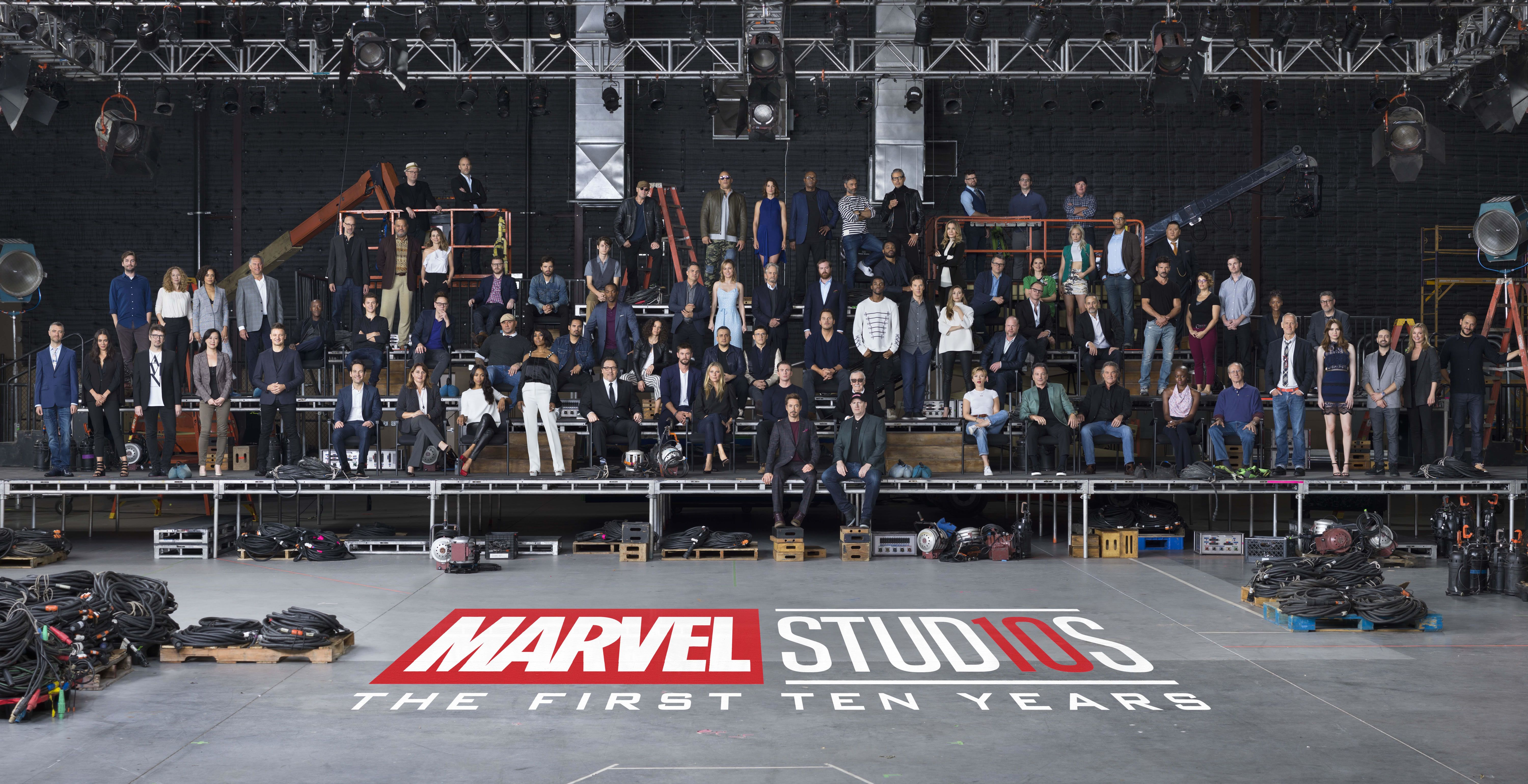 mcu class photo social - Kevin Feige Weighs in on How the Disney/Fox Merger Might Affect Plans for the MCU
