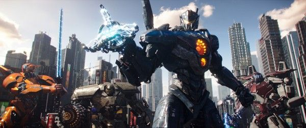 pacific rim uprising social - 'Pacific Rim Uprising' Teaser Highlights New Jaeger Weapons and Upgrades