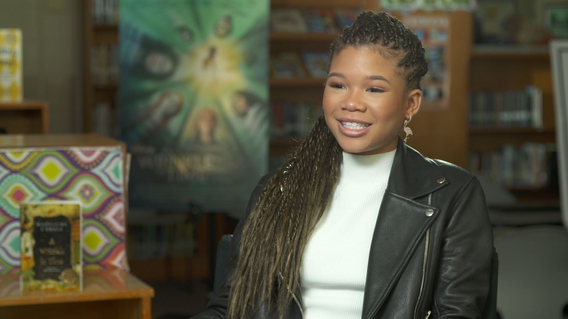 a wrinkle in time storm reid interview - 'A Wrinkle in Time': Storm Reid Gives Her Advice to Aspiring Young Actors