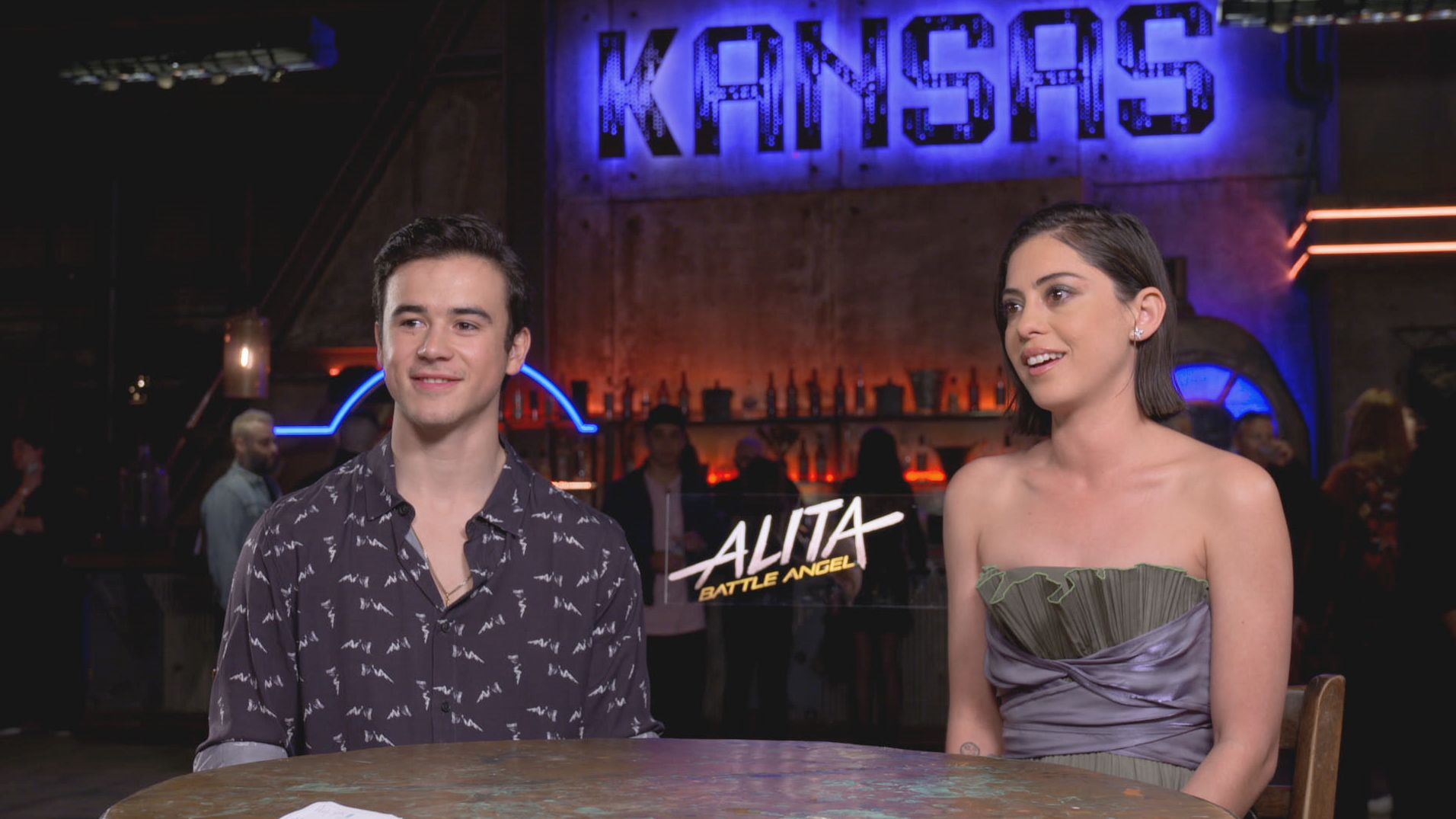 Alita: Battle Angel's Rosa Salazar & Keean Johnson on