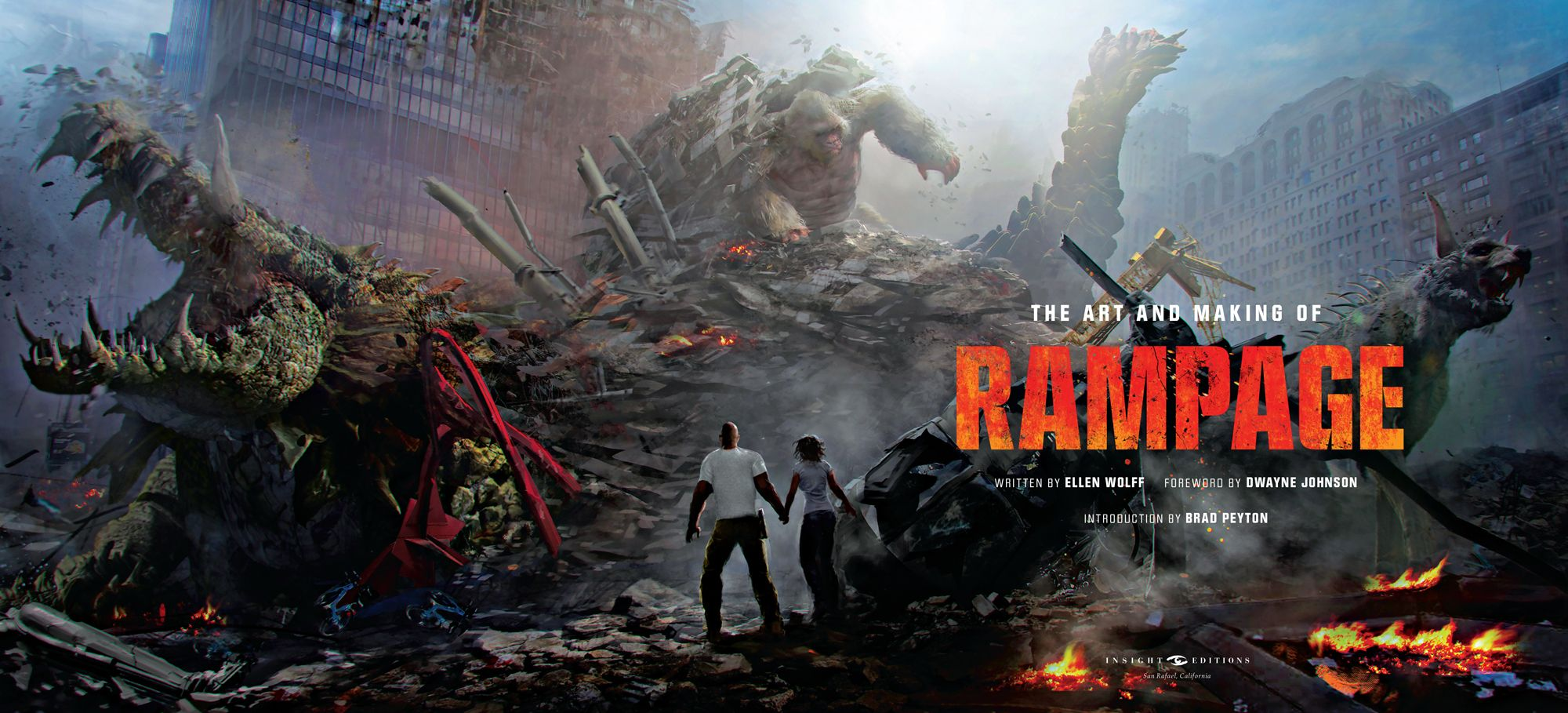 The Art And Making Of Rampage Reveals Behind The Scenes Secrets