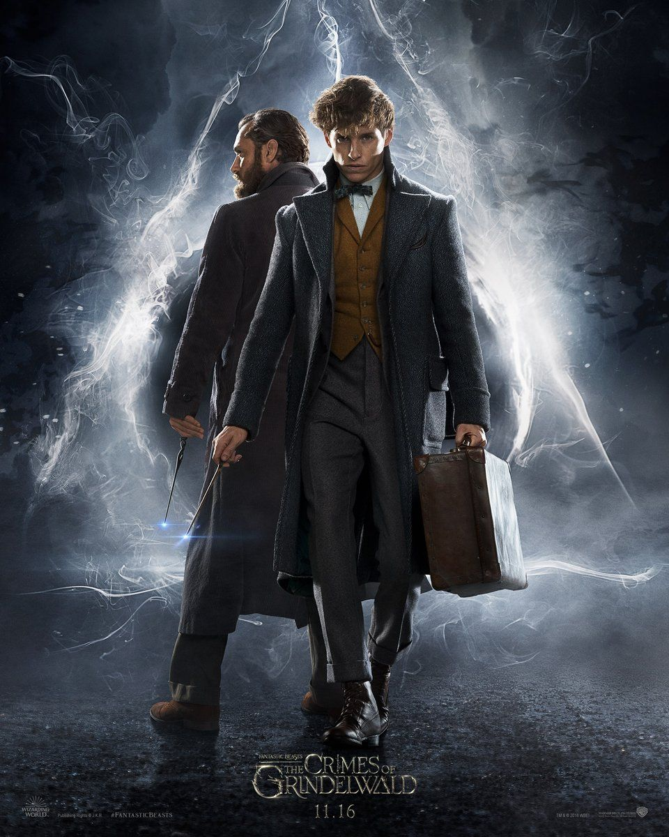 Fantastic beasts 2 poster teases the deathly hallows collider fantastic beasts crimes of grindelwald poster biocorpaavc Choice Image
