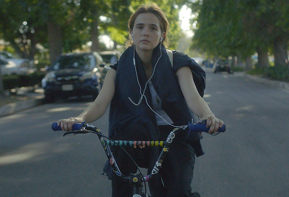 Flower Zoey Deutch And Max Winkler On Taking A Risk Collider